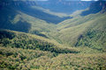 Blue Mountains - Australia Stock Photo