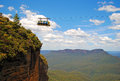 Blue mountains in new south wales australia Royalty Free Stock Image