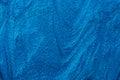 Blue nail polish texture Royalty Free Stock Photo