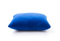 Blue neck pillows Royalty Free Stock Photo