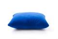 Blue neck pillows Royalty Free Stock Photo