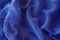 Blue Net Background Stock Photography