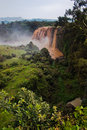 Blue Nile Falls in Ethiopia Stock Photo