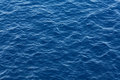 Blue ocean water texture Royalty Free Stock Photo