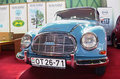 Blue oldtimer Royalty Free Stock Images