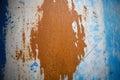 Blue and orange background Royalty Free Stock Photo