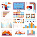 Blue orange info graphics this is file of eps format Royalty Free Stock Photography