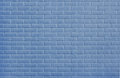 Blue painted brickwork wall background Royalty Free Stock Photos