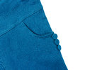 Blue pants on isolated background Royalty Free Stock Photos