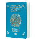 Blue passport isolated Royalty Free Stock Photo