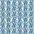 Blue pastel knitted seamless background pattern