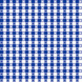 Blue pattern seamless tablecloth 免版税库存照片
