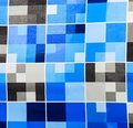 Modrý vzor textilné dizajn
