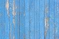 Blue Peeling Painted Wood Plan...