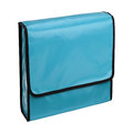 Blue pencil-case isolated Royalty Free Stock Photo