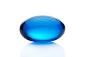 Blue pill Stock Photography