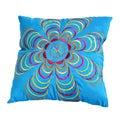 Blue pillow Stock Image