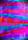 Blue and Pink art abstract tiles background Stock Photo