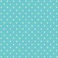 Blue polka dot background pattern Royalty Free Stock Photo