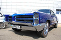 Blue Pontiac Catalina Royalty Free Stock Photo