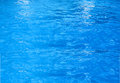 Blue pool water Royalty Free Stock Photo