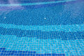 Blue pool water texture background Royalty Free Stock Photo