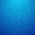 Blue Printed Circuit Board