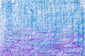 Blue and purple  crayon drawings on white background texture Royalty Free Stock Photo