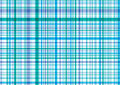 Blue and purple plaid pattern Stock Image