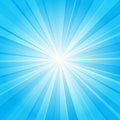 Blue ray background Royalty Free Stock Photo