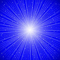 Blue rays Royalty Free Stock Photo