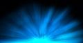 Blue Rays Burst