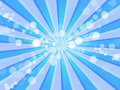 Blue Rays & Oxygen Bubbles Background Royalty Free Stock Photo