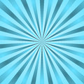 Blue rays poster star burst Royalty Free Stock Photo