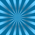 Blue rays poster star Royalty Free Stock Photo