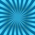 Blue rays poster star shine wavy Royalty Free Stock Photo
