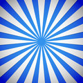 Blue Rays, starburst, sunburst background. Royalty Free Stock Photo