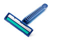 Blue razor Stock Images