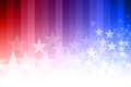 Blue and Red Star Background Royalty Free Stock Photo