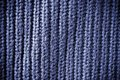 Blue regular striped and woven material background or texture navy Stock Photo