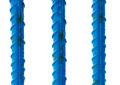 Blue reinforcement bars Stock Images