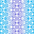 Blue Retro Pattern Stock Images