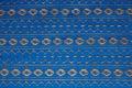 Blue ribbon background Royalty Free Stock Photo