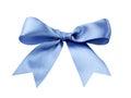 Blue ribbon Royalty Free Stock Photo