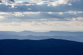 Blue Ridge Mountains Shenandoah NP Virginia VA USA Royalty Free Stock Photo