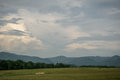 Blue Ridge Mountains of Virginia Royalty Free Stock Photo