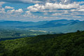 Blue Ridge Mountains of Virginia, USA. Royalty Free Stock Photo