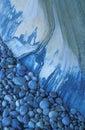 Blue rock kamienie Obraz Stock