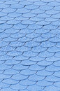 Blue  roof  background Royalty Free Stock Image