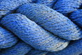 Blue rope Royalty Free Stock Photography
